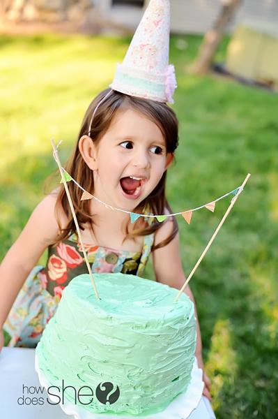 Shabby Chic Birthday Party
