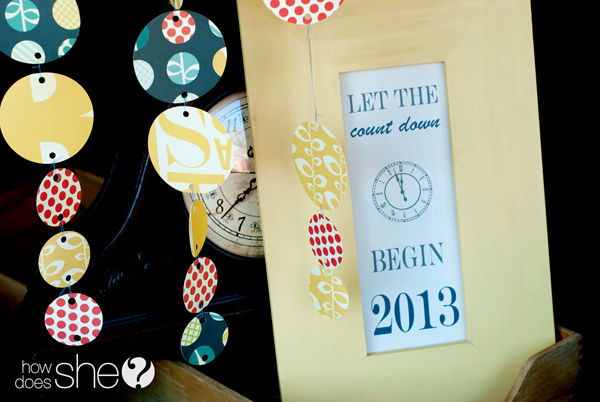 simple new years decor