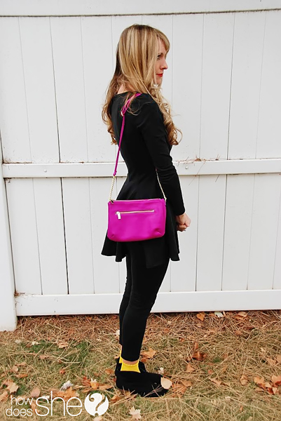 add color to your outfit