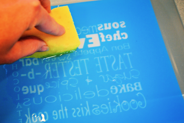 learn how to silk screen
