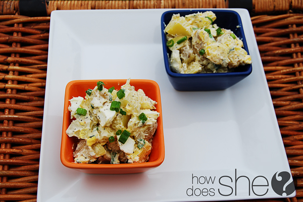 The SKINNY on Potato Salad