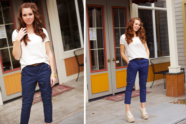 How to wear high waisted pants