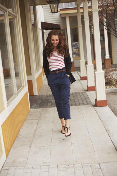 cute ways to wear High-waisted pants