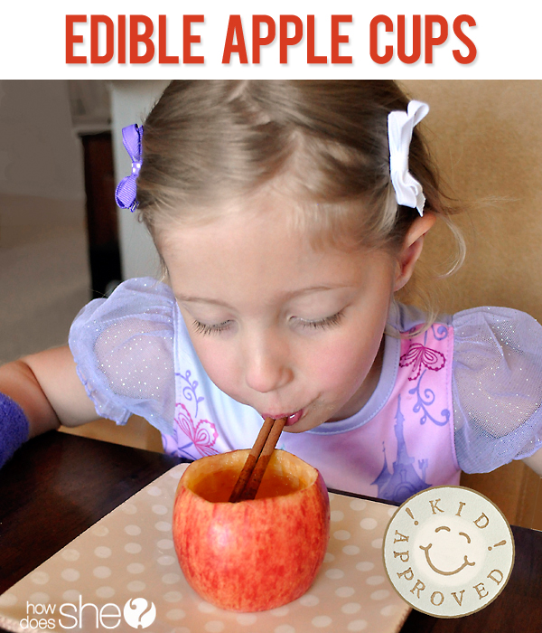 Edible Apple Cups