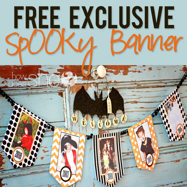 graphic regarding Halloween Banner Printable referred to as Cost-free Halloween Printables Decorations - No cost distinctive