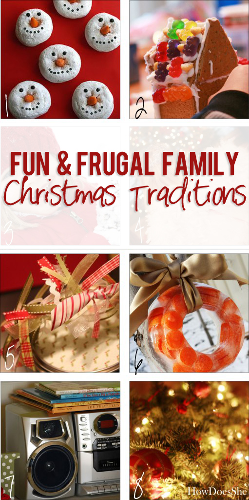 Fun and Frugal Family Christmas Traditions