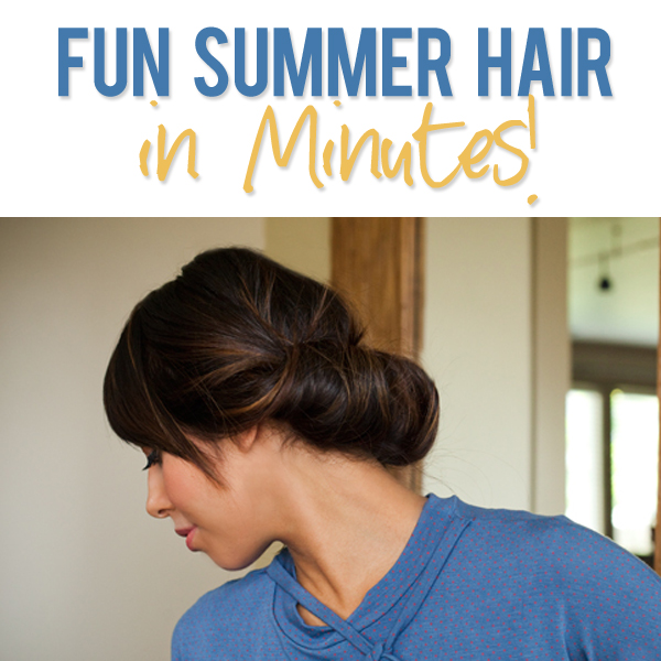 Fun Summer Hairstyle
