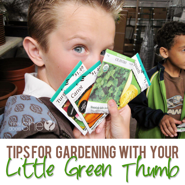 Gardening With Your little Green Thumb