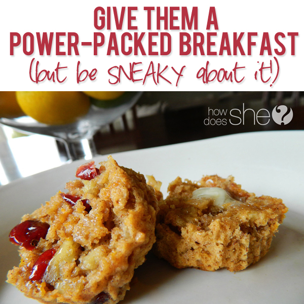 power breakfast for kids