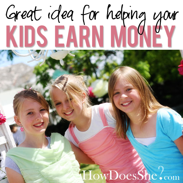 Help Kids Earn Money