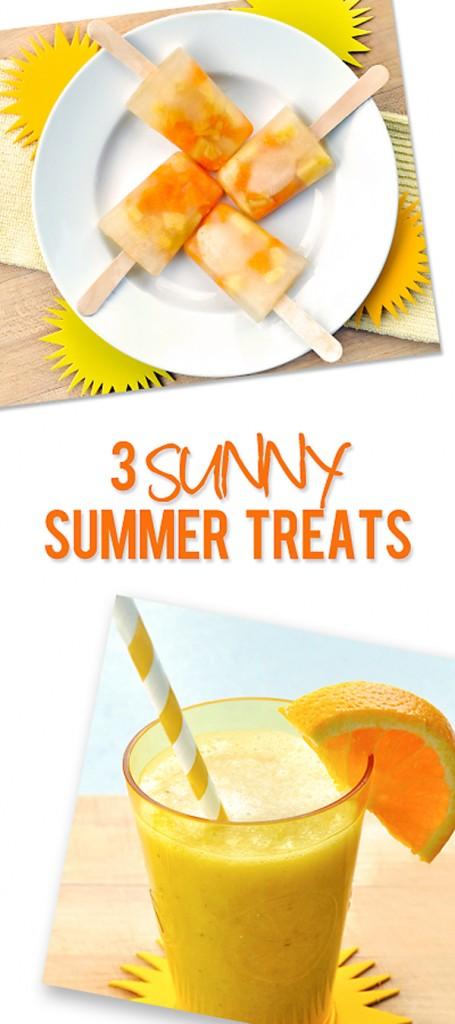 3 sunny summer treat ideas