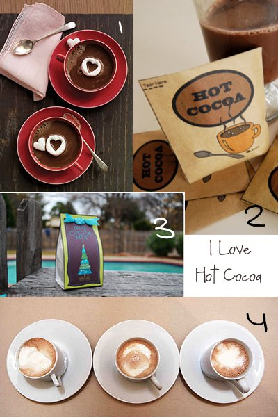 Hot Cocoa and Snow 4 great ideas