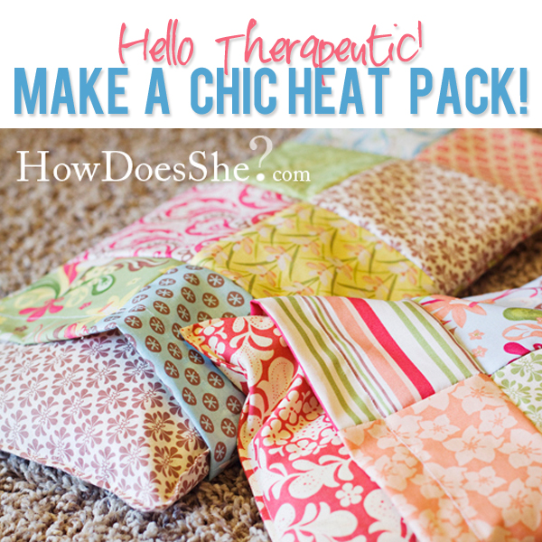 heat pack with washable cover