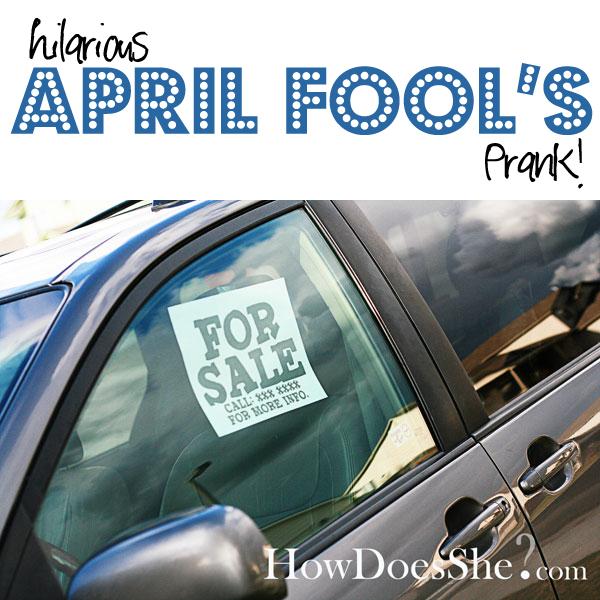Hilarious April Fools Joke