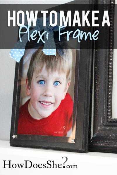 How to Make a Plexi Frame