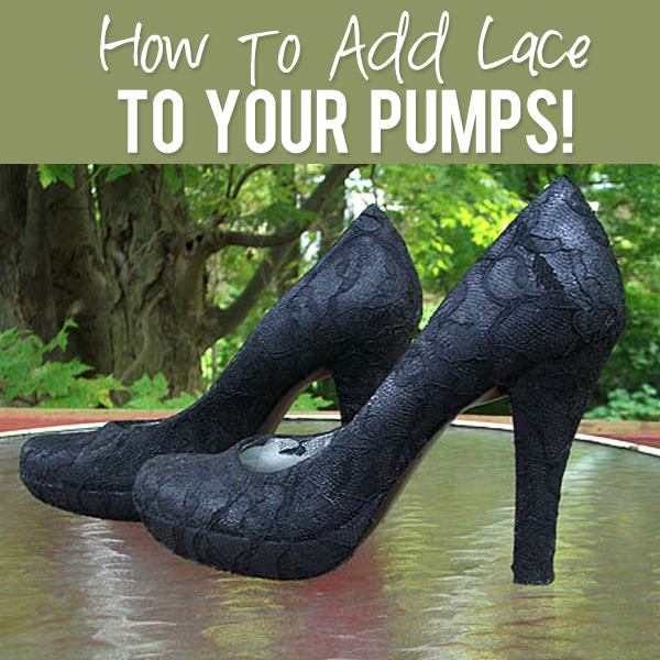 How to add lace to your pumps