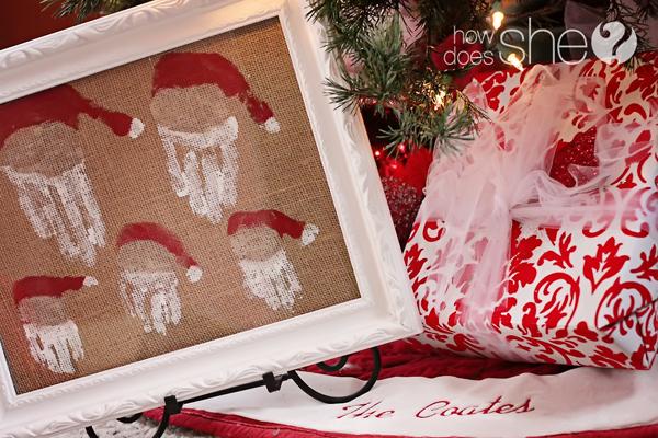 A Family Of Santas