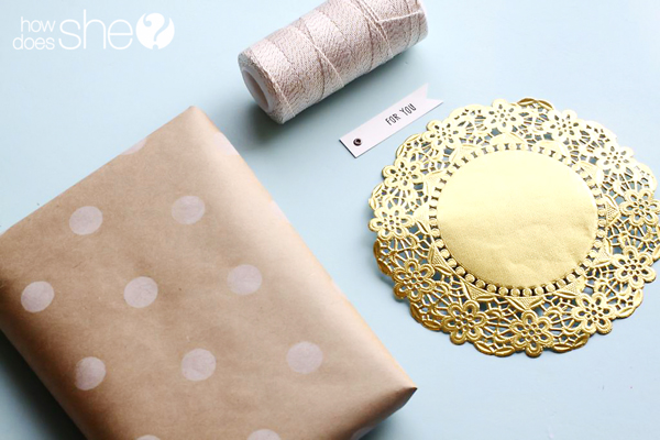 Perfect gift wrap and accessories