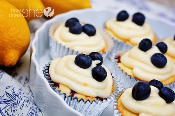 Blueberry Lemon Cupcakes