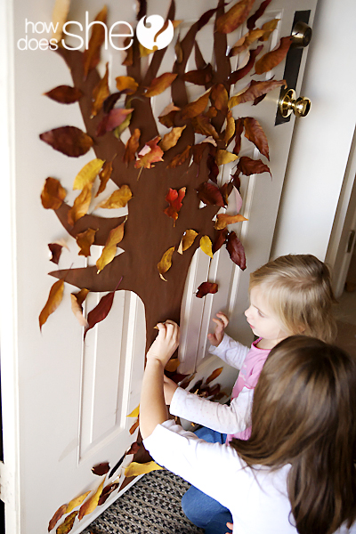 Autumn Tree Door
