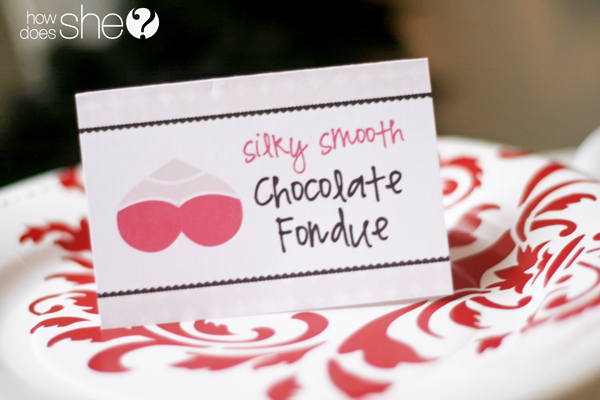 Fancy Flirty Fondue Party Lingerie Gift Exchange