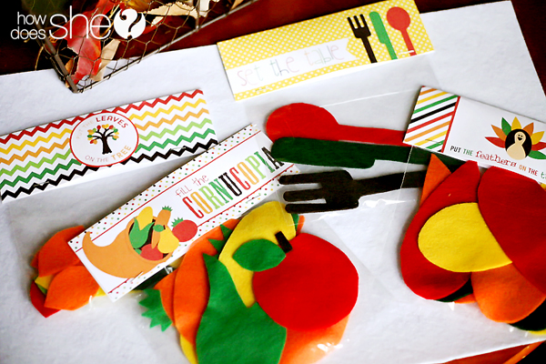 Thanksgiving Play Set – Free Pattern