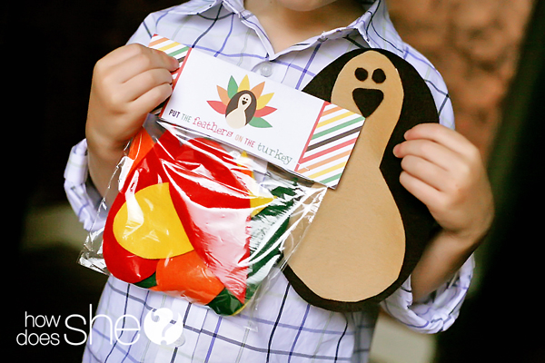 free crafts for kids thanksgiving play set felt pattern or color printable 4507