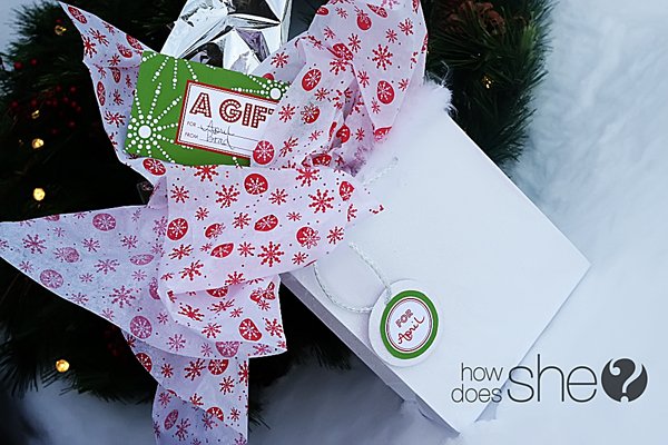 Free Christmas Gift Giving Printables