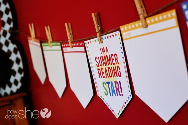 Summer Reading Star PRINTABLE