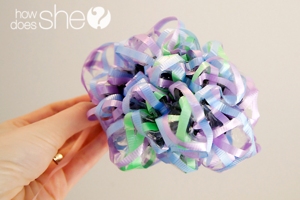 Make A Ribbon Balloon