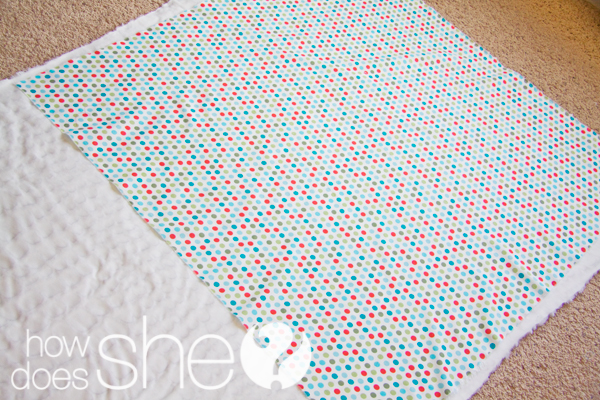 Minky Blanket tutorial