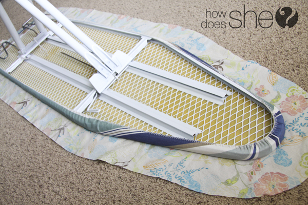 ironing board slip cover