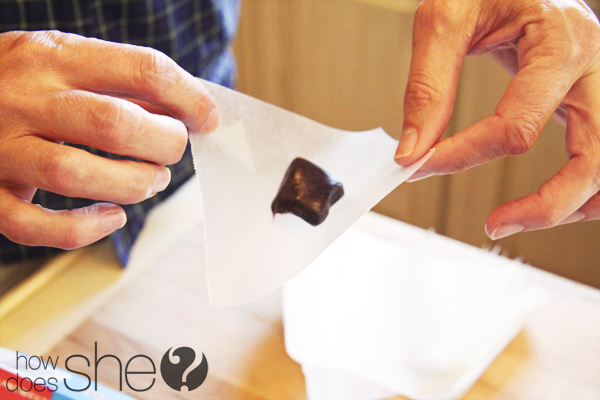 Black Licorice Caramels
