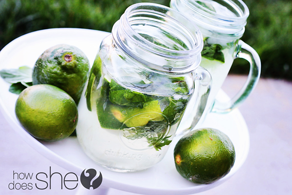 Easy and delicious Mint Limeade recipe