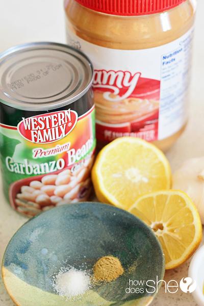 Garlic Lemon Hummus