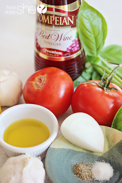 Fresh Tomato Basil Dressing