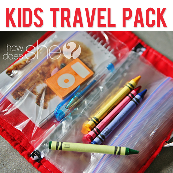 Kids Travel Pack