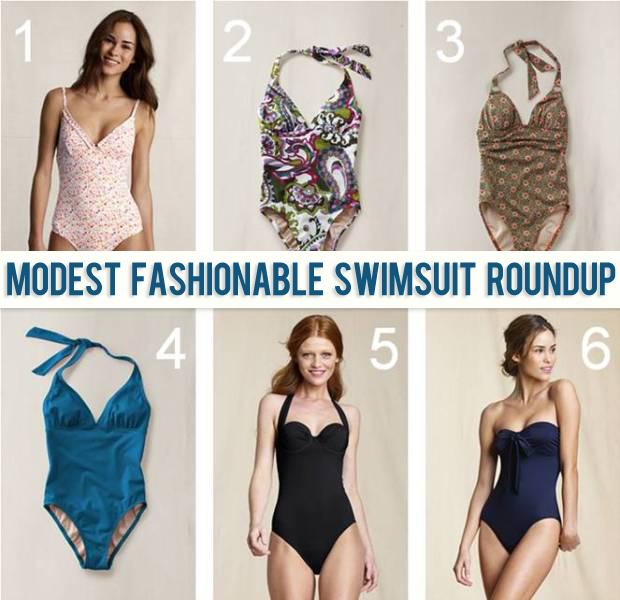 Modest Fashionable Swimsuit