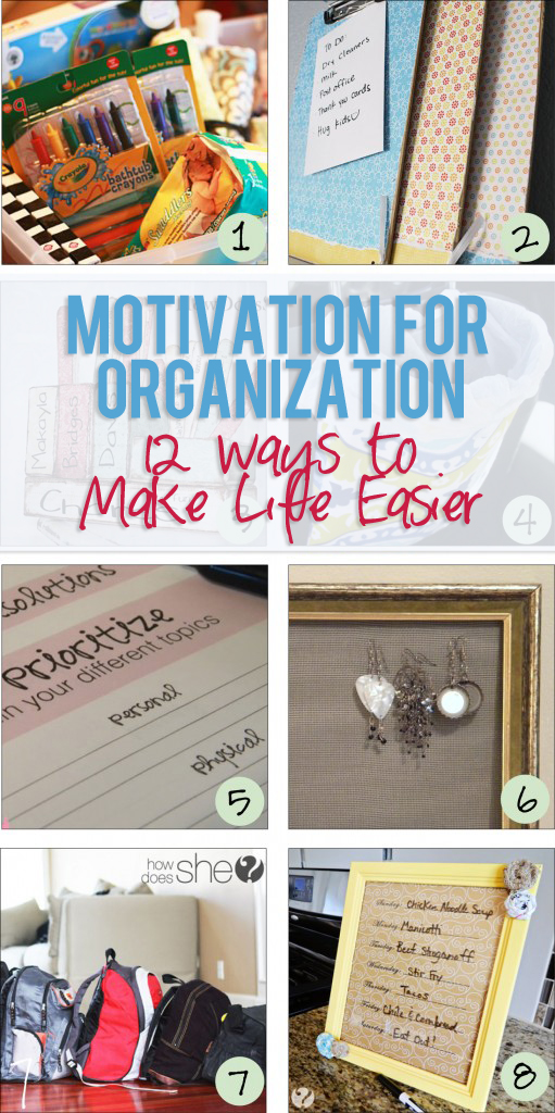 Motivation for Organization