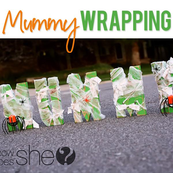 Mummy Wrapping