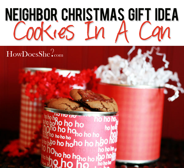 Cookies in a Can
