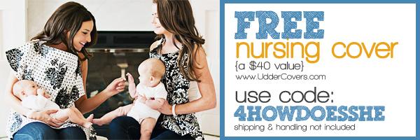 Nursing Cover banner mothers lounge