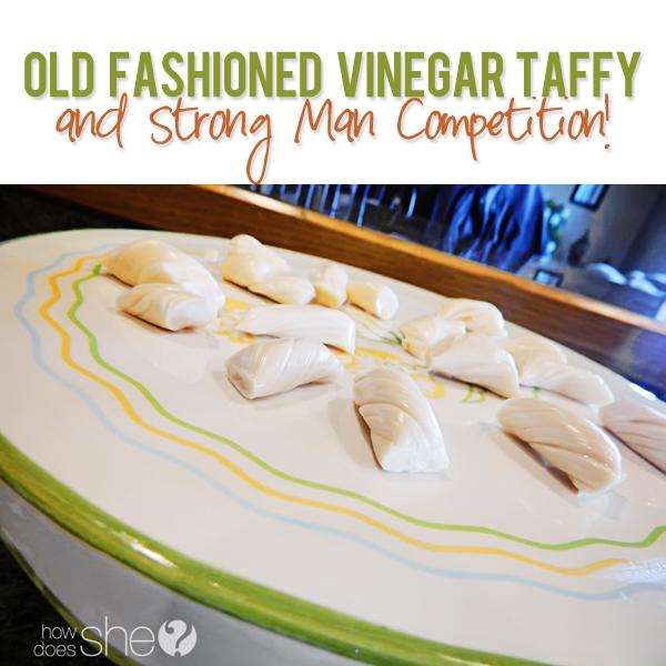 Old Fashioned Vinegar Taffy