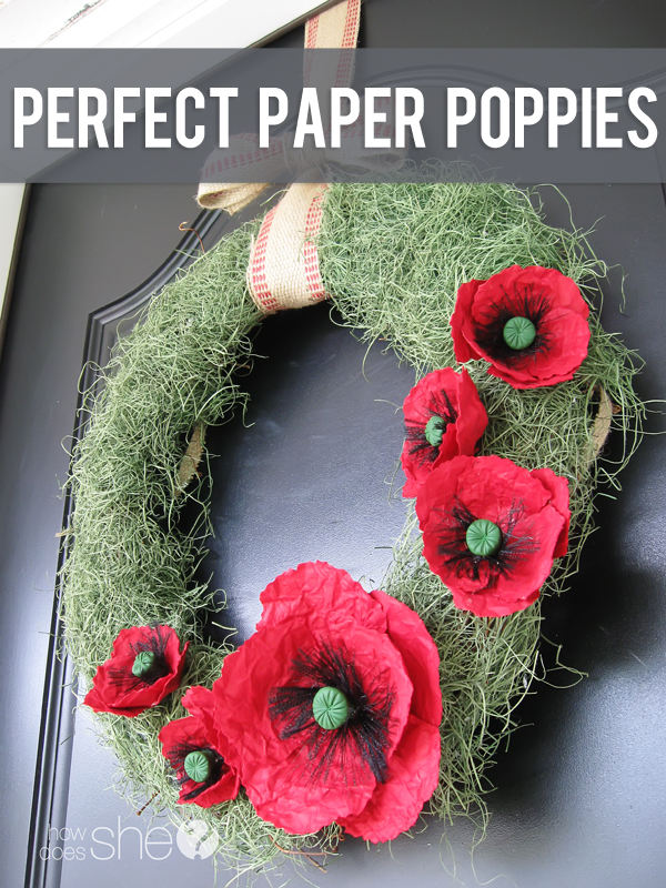 Perfect Paper Poppies