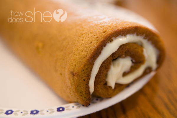 The most amazing pumpkin roll recipe ever