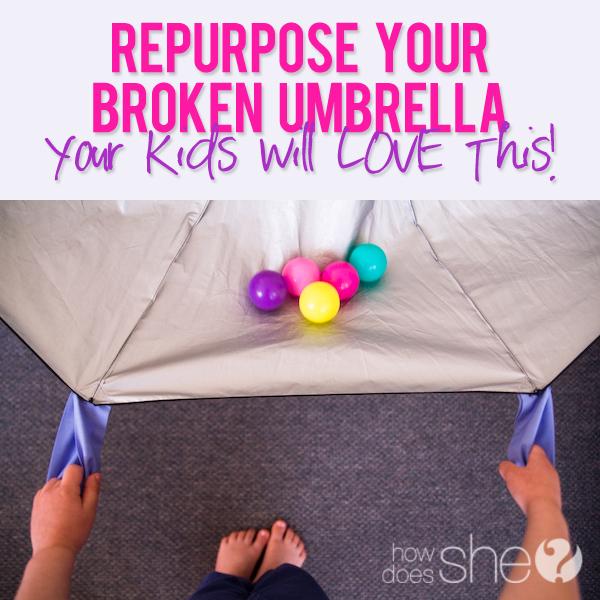 What to do with a broken umbrella