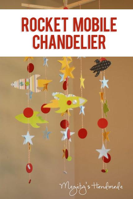 Rocket Mobile Chandelier