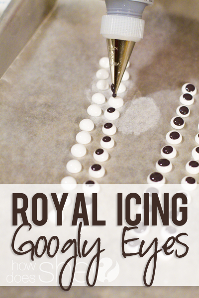 How to Make Royal Icing Googly Eyes