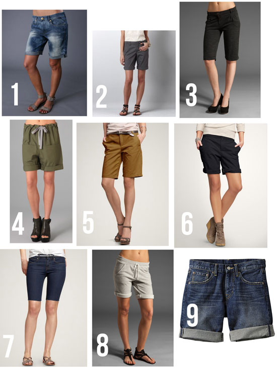 stylish mom shorts