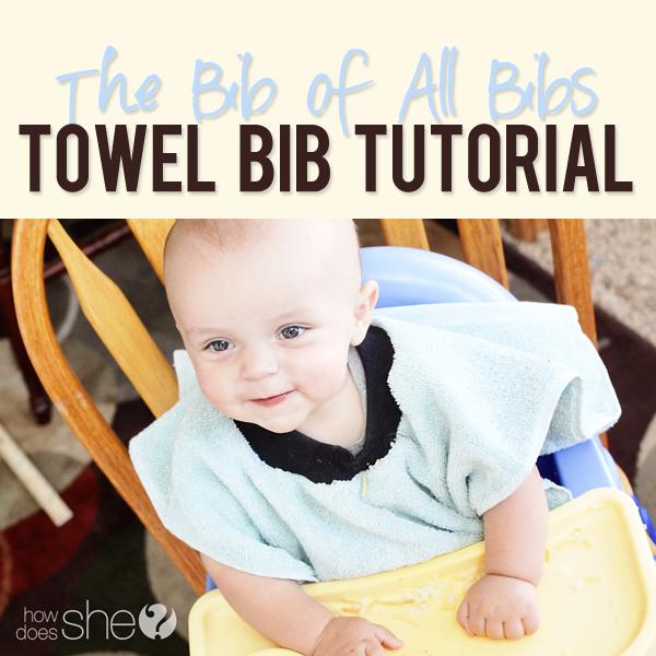 Baby /& Toddler Long Towel Bib